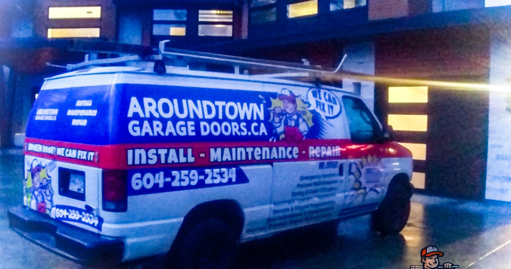 Aroundtown Garage Doors Ltd. - Service Call with Lenn Dolling - Serving Metro Vancouver - Richmond - Whiterock - Delta - Surrey - North Vancouver - Burnaby - Maple Ridge